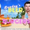 'Beers, Boys and Burgers' Every Sunday at Hotel Mercurio